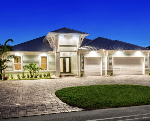 The Reflection cape coral custom home builder